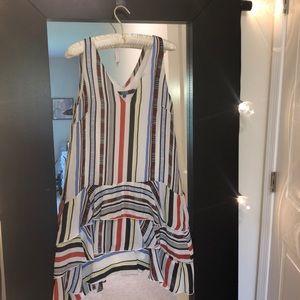 Eva Franco striped dress size 6
